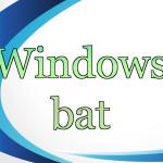 【Windowsバッチ】サービスの再起動方法